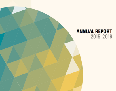 Cover of 2015-2016 Annual Report