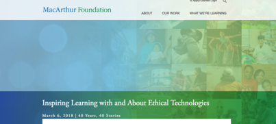 DML, Digital Media and Learning, MacArthur Foundation