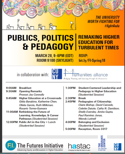 Publics, Politics, and Pedagogy: Remaking Higher Ed for Turbulent Times