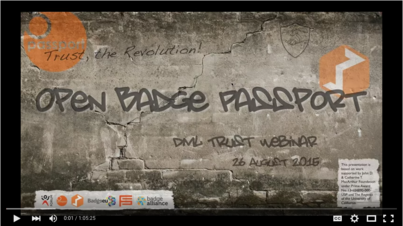 Building Trust Networks with the Open Badge Passport | DML Trust Challenge Webinar