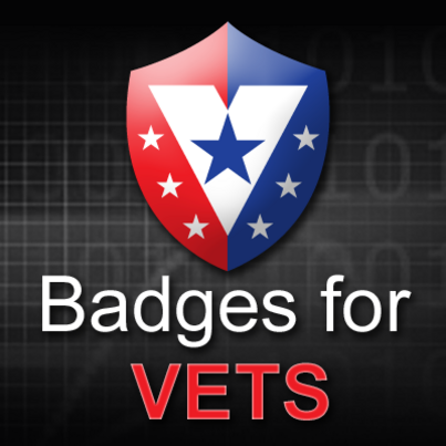 Badges Work for Vets