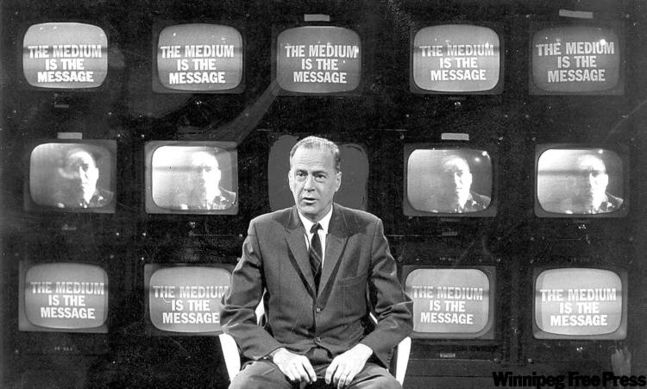 Image result for marshall mcluhan images