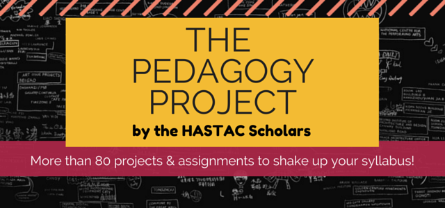 Title Page Graphic - The Pedagogy Project Book, by the HASTAC Scholars