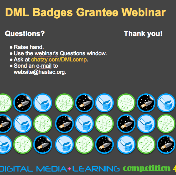 DML Badges Webinars