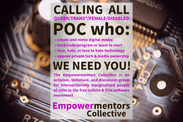 Please help signal boost the Empowermentors Collective!