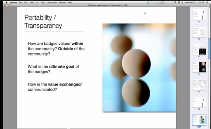 Stage 2 Preparation and Badge System Models and Designs with Carla Casilli (Mozilla) - DML Badges webinar