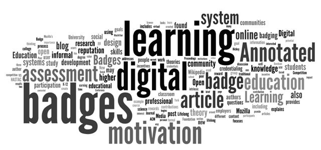 New Resource: Digital Badges: An Annotated Research Bibliography