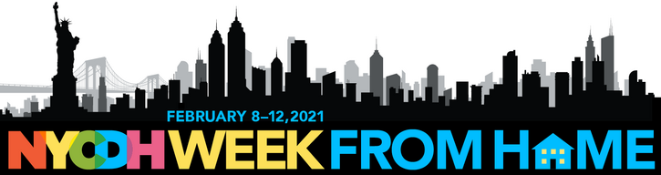 NYCDH Week From Home logo image