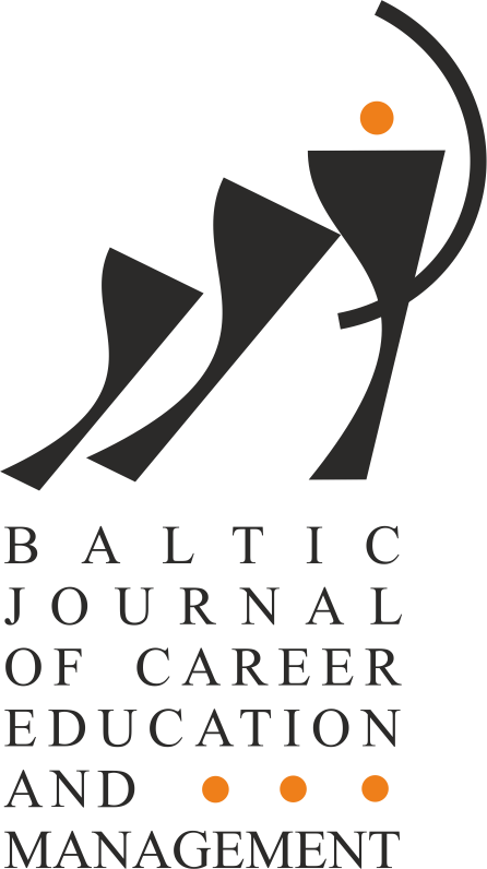 Baltic Journal of Career Education and Management. Information_10CFP_BJCEM_2018