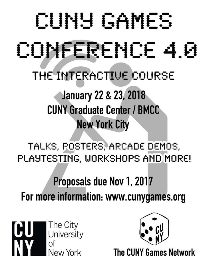 CUNY Games Conference 4.0