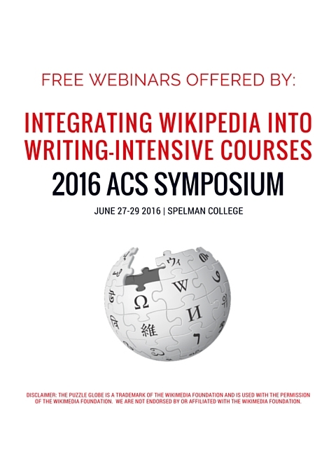 Free Webinars for Teaching Writing with Wikipedia