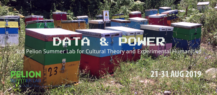 Pelion Summer Lab for Cultural Theory and Experimental Humanities - Data & Power
