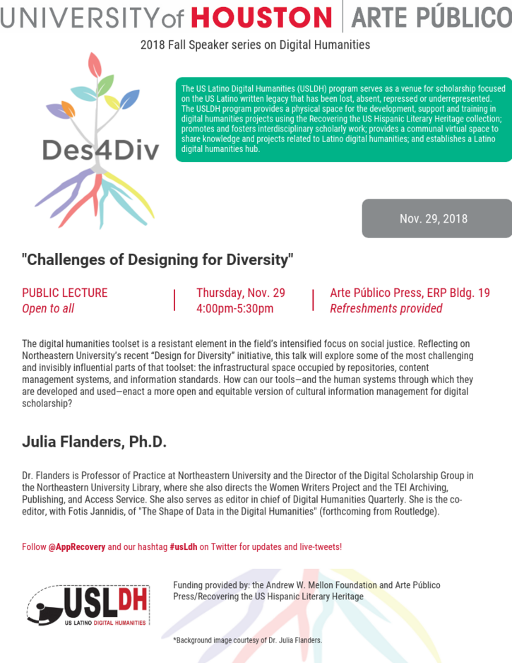 Public lecture: Challenges of Designing for Diversity