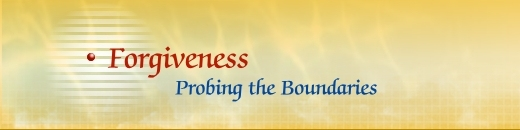 5th Global Conference: Forgiveness