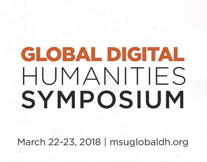 Global DH Symposium title with dates and URL below