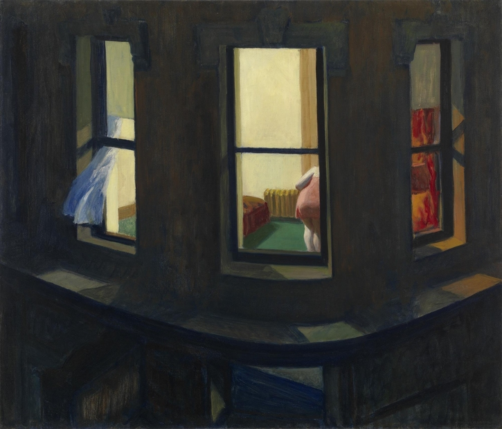 Edwrad Hopper, Night Windows, 1928, DIGITAL IMAGE © 2018 The Museum of Modern Art/Scala, Florence