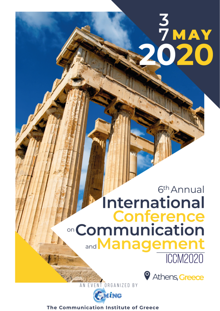 6th International Conference on Communication and Management
