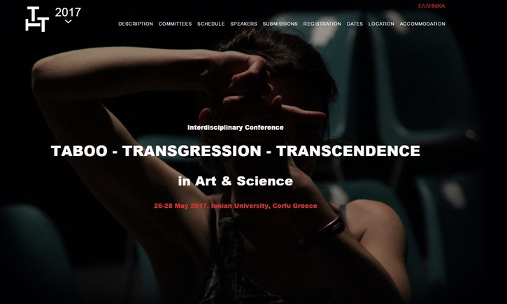 Taboo - Transgression - Transcendence in Art & Science 2017
