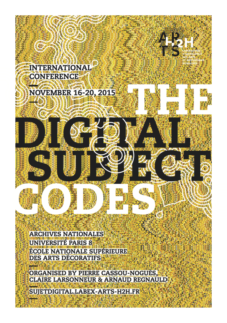 THE DIGITAL SUBJECT #4: CODES