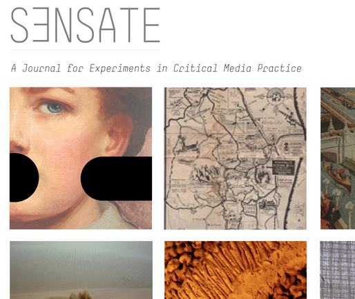 Call for Submissions - Sensate Journal for Experiments in Critical Media Practice