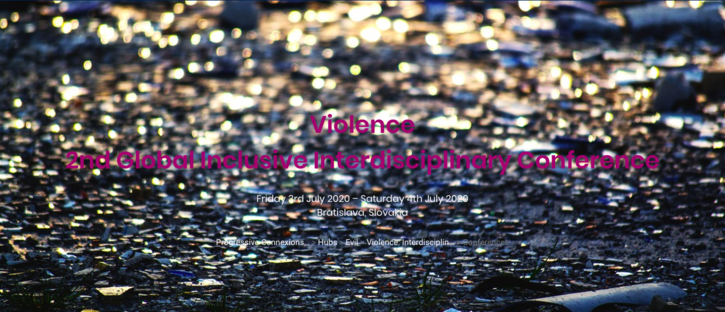 Violence: 2nd Global Interdisciplinary Conference