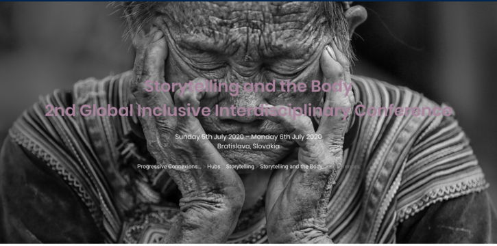 Storytelling and the Body: 2nd Global Interdisciplinary Conference