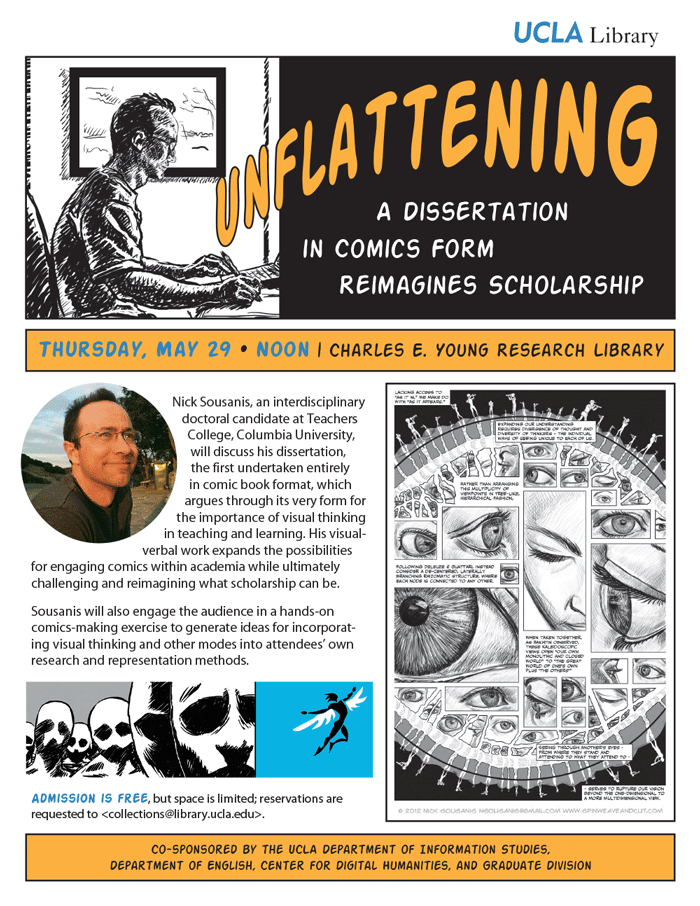 Unflattening: A Dissertation in Comics Form Reimagines Scholarship