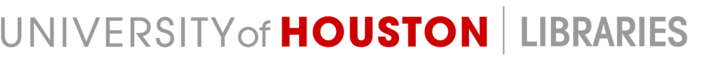 University of Houston Libraries Logo