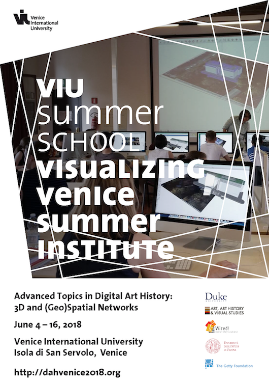 VIU Summer School Visualizing Venice Summer Institute