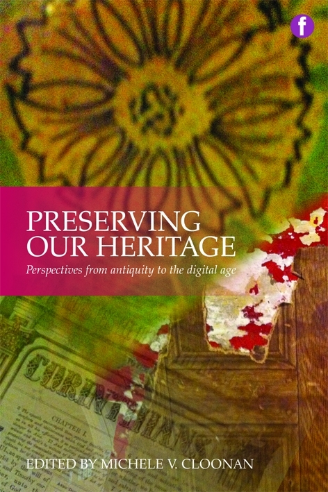 Preserving our Heritage wins SAA Preservation Publication Award