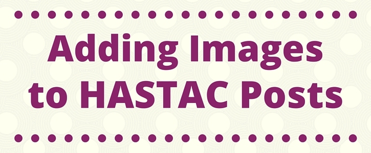 How to add images to HASTAC posts