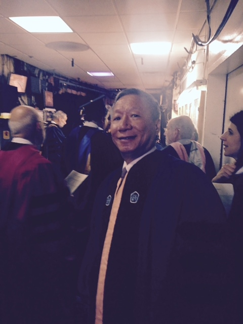 Congratulations Dr. Curtis Wong,  Graduate Center CUNY Doctor of Humane Letters, honoris causa.