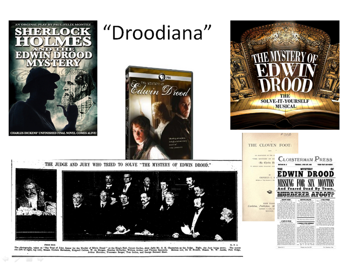 Measuring Edwin Drood: Experiments with Literary Data, Gephi