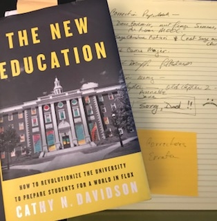 """New Education"" Errata, Regrets, and New Year's Resolutions: A Memoir of Mistakes and Corrections"