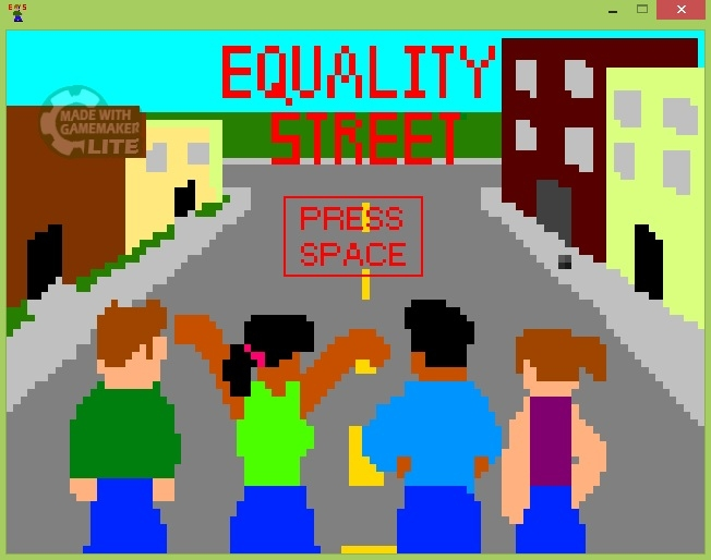 Crossing Paths with Colorblindness: Equality Street