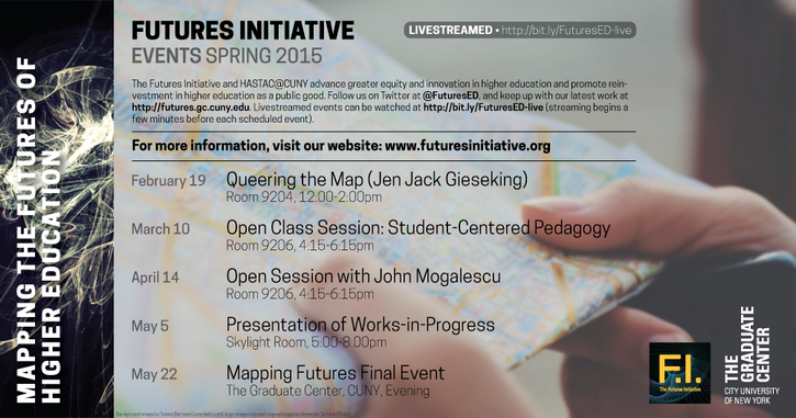 Futures Initiative Spring 2015 Events