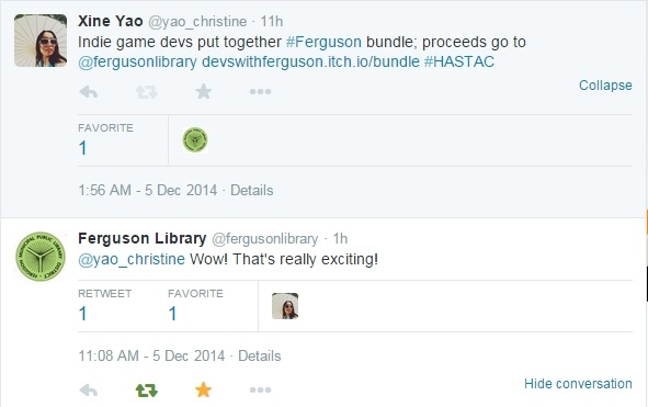 Devs with Ferguson: indie game developers and social justice