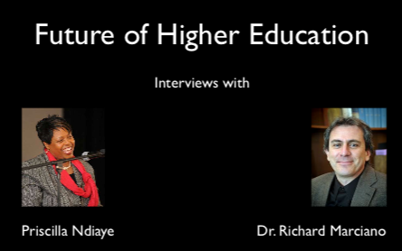 Future of Higher Education and CI-BER Interviews