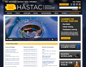 Streamlining hastac.org