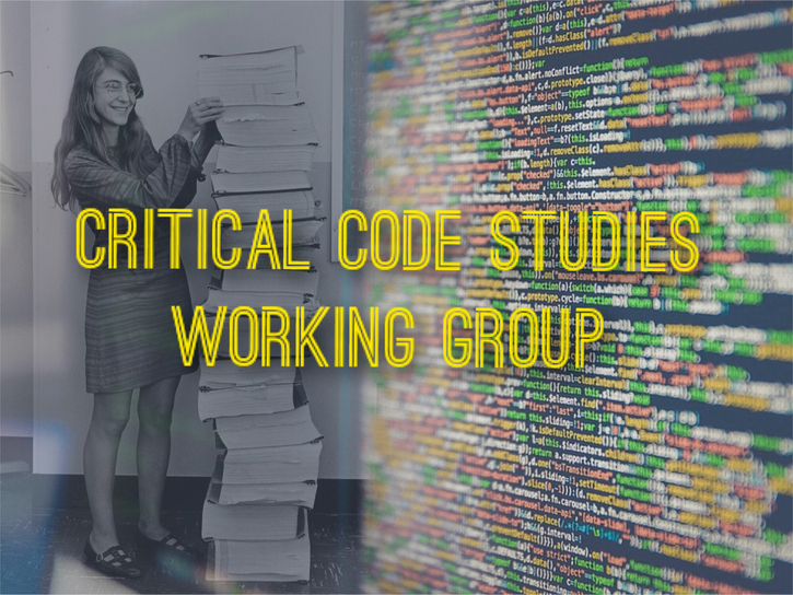 Introducing the Critical Code Studies Working Group