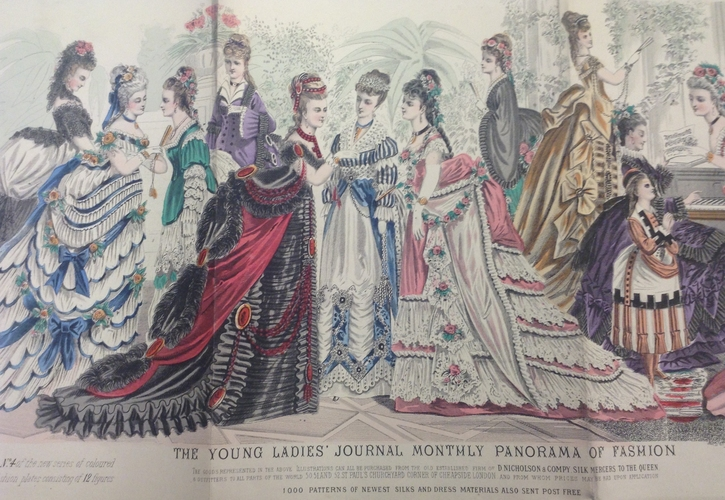 Dressing up history: Finding the voice of Victorian women through 1870s fashion