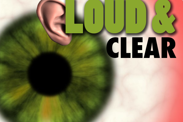 LOUD & Clear, a Student Led Gallery Show of Digital Media Projects