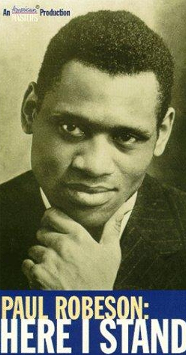 """The Artist Must Take Sides:   Paul Robeson and the Paradox of Justice"