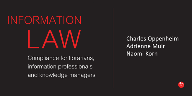 Information Law banner image