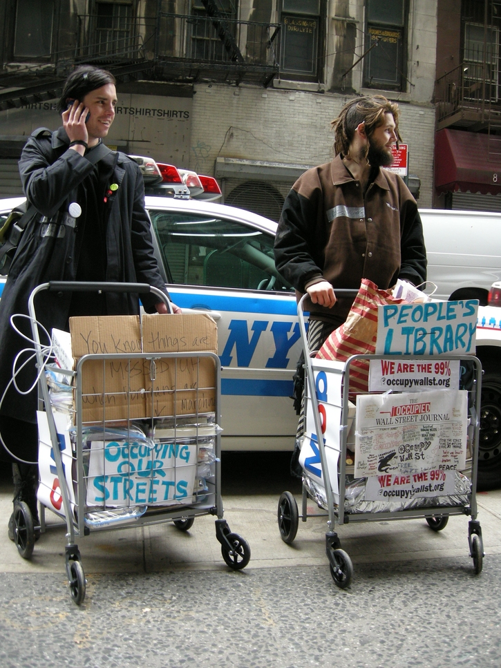 On the Occupy Wall Street Library