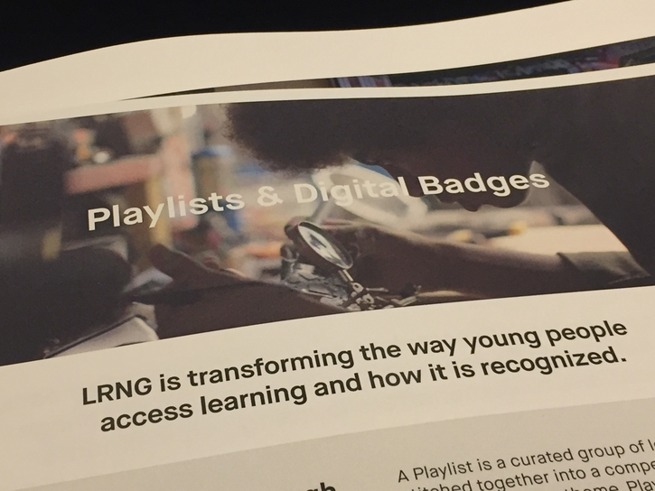 LRNG is transforming the way young people access learning and how it is recognized.