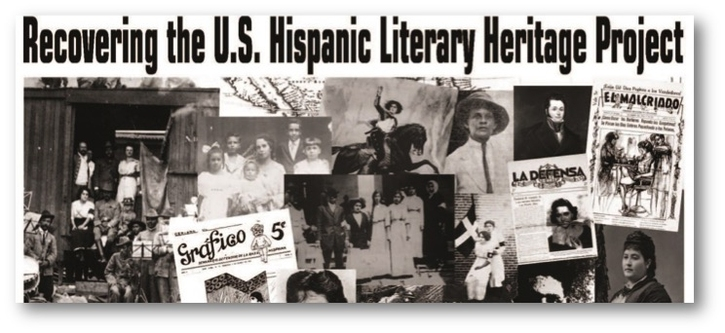US Latino newspapers and photos of recovered US Latina and Latino authors from the Recovering the US Hispanic Literary Heritage archives