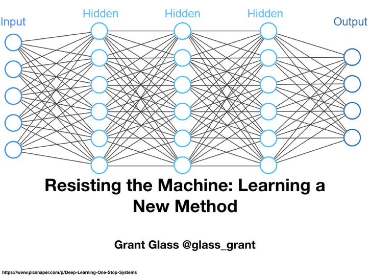 Resisting the Machine: Learning a New Method