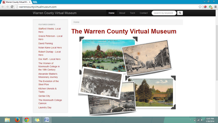 Connecting Past to Present through Digital Exhibits and Online Cataloging