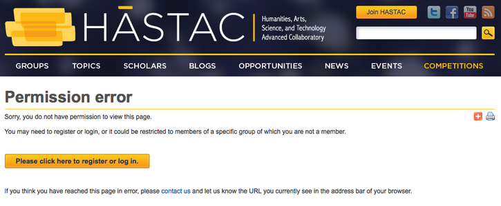 Kicked off hastac.org?
